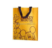 Hot sale printing non woven shopping bag