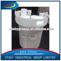 In-Line Filter auto plastic fuel filter ZL05-20-490A