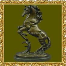 Large Decorative Antique Bronze Horse Statue for Sale