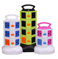 Two - tier multi - functional socket genuine power outlet