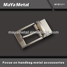 Custom metal belt buckle parts manufacturer, high quality belt buckle for belt MYB10001