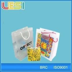 photo printing shopping fold bag high quality manufacture