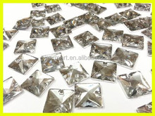 Wholesale Crystal Glass Loose Chaton in Bulk