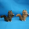 small plastic animal figurines bengal cat garfield soft toys