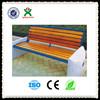 Eco-friendly guangzhou qixin stone garden bench/cheap wooden seats outdoor/China best designer bench QX-144I