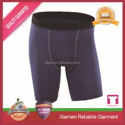 wholesale custom polyester + spandex sports shorts for men/ OEM mens gym shorts