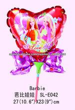 """2013 diseño del cumpleaños de la venta caliente """"Micky cumpleaños"""" globo de la hoja, globo stick publicidad"""