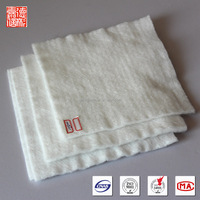 Long fibers needle puncture resistant fabric