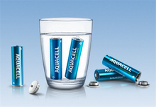 Switzerland AQUACELL environmentally friendly rechargeable batteries water power battery