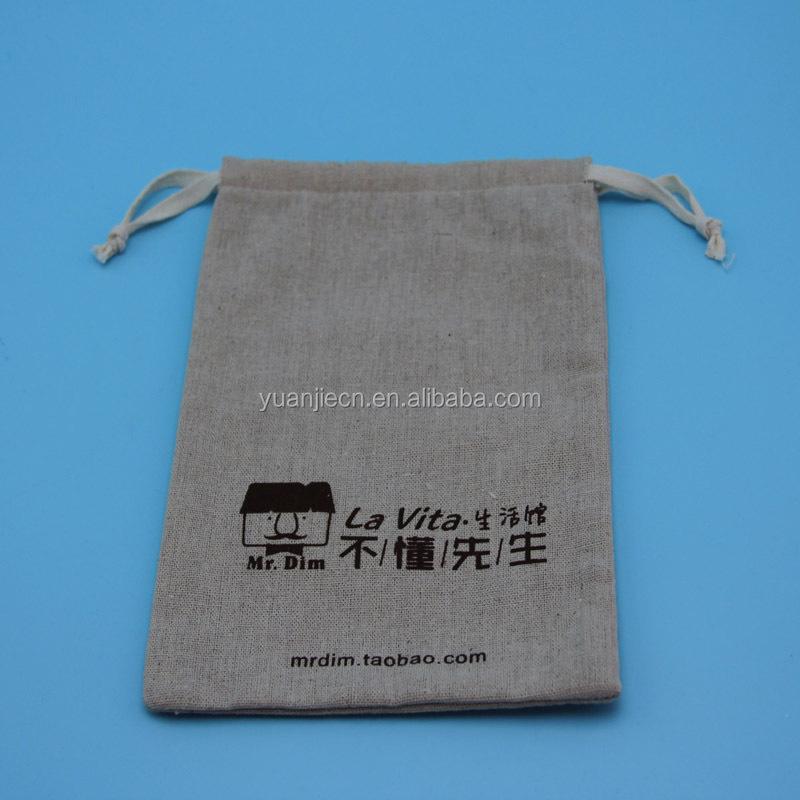 શિયાળ / ચમચી / છરી માટે ઇકોફ્રેન્ડલી ફેન્સી ડ્રોસ્ટ્રિંગ જૂટ બેગ