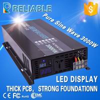 EMC CE Approved 1000W 2000W 3000W 4000W 5000W 6000W Pure Sine Wave Solar Home Inverter