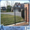 decorative garden fence, security fence, metal fence panels