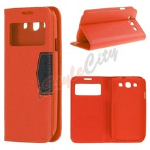 For Samsung Galaxy S6 Edge Stand Flip Leather Case ,Leather Cover for S6 edge
