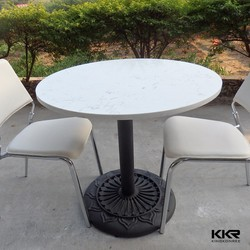 Fast food restaurant dia700 round table