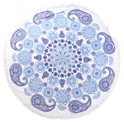 Blossom Europe market printed beach towels/velour towel beach in stock