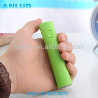 Fashion power bank ALD-P32 Portable mobile euro cell phone charger power bank2600mah with torch