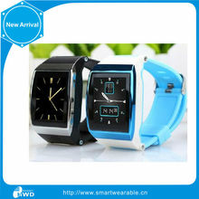 smart watch waterproof Bluetooth bracelet Watch Android Phone WIth SIM Card and Car alarm FM Radio watch phone in china alibaba