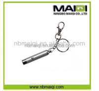 UV LED Flashlight Keychain With Holder For Promotional Gifts