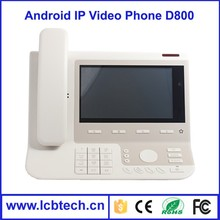 Android2.1 LCD Video Voip IP Phone, door phone, touch screen with High quality