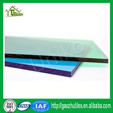 GE uv coating solar anti-fog corrugated impact resistance plastic glass polycarbonate sheet