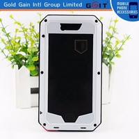[GGIT] 2 in 1 Cool Design Metal + Silicon Case for Apple for iPhone 6 with Best Quality
