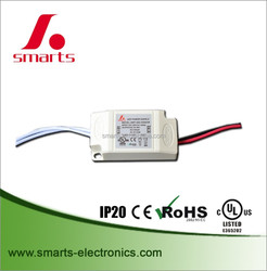 plastic 500mA 6w led driver constant current with UL/CE/ROHS