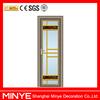 decorative frosted glass casement door bathroom swing door