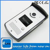 New wireless IP video door phone with camera, water proof, motion detection, night vision, remote door access, door phone