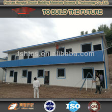 China widely used prefab house for camp house are easy installate