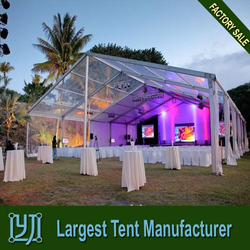 Luxury Transparent Plastic Tent for Wedding in guangzhou