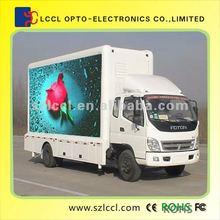 a prueba de agua llevó panel ip65 moible led camión cartelera para el desfile