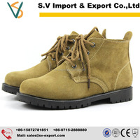 China nubuck leather industrial safety shoes