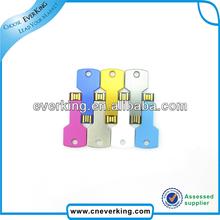 wholesale 2014 promotional gift key shaped usb stick with custom logo