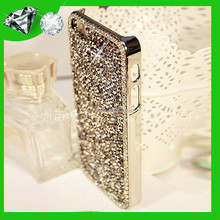 cell phone case Rhinestone Crystal hard case for iphone 6, for iphone case rhinestone 6