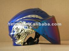 AD-802 dirt bike helmet/ half helmet blue/ novelty helmet