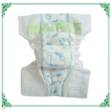 Customized baby diaper in pallets packing