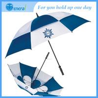 Professional design Straight Windproof solar umbrella fan