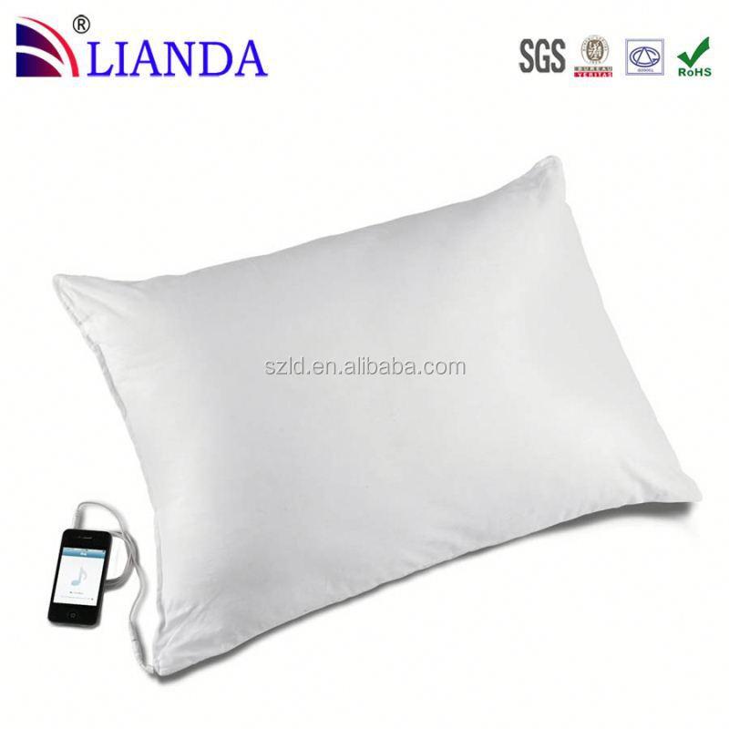 U shape music pillow sound speaker pillow memory foam for Music speaker pillow