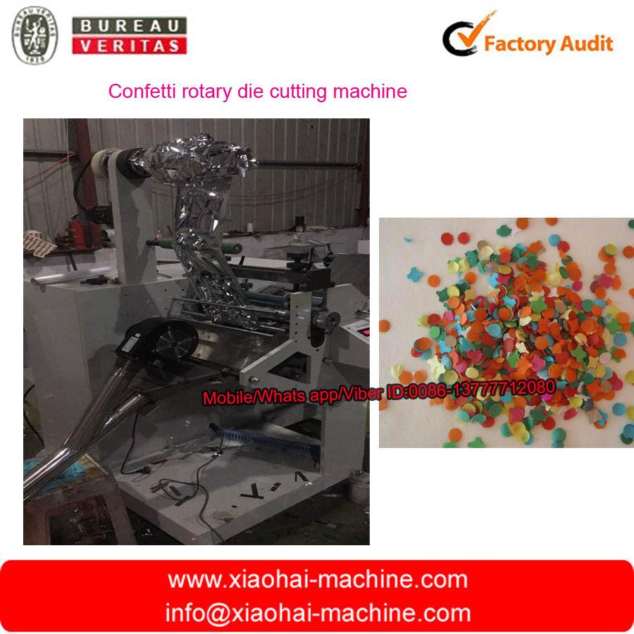 Confetti rotary die cutting machine 2
