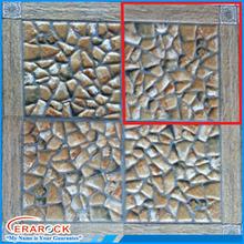 Home Decor Pebble Ceramic Floor Tile 30x30 Sizes For Garden