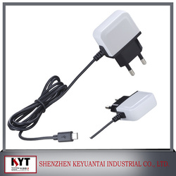 2016 Wholesale US EU Korea Plug Portable Cell Phone Charger/ Travel Wall Charger USB Charger for iPhone Samsung