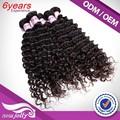 Venta al por mayor precio 12 a 28 pulgadas adorable productos para el cabello, 100% de la virgen negro productos de belleza mayorista enrollamiento profundo