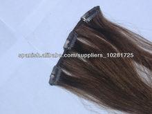 cabello humano virginal y productos para el cabello