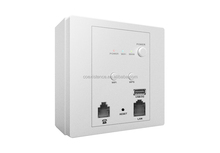 Wall AP 150Mbps high power 802.11N wall wifi router , Can pass Through 5 Wall, wifi router rj45