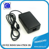 12v dc timer switch adapter/ power supply with 85% efficiency 10 amp 120w