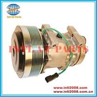 Sanden 709 FOR Caterpillar auto ac compressor SD7H15 /SD7H15HD 4302 4840 N83-304544 183-5106 75R-81134 RD5-11236-0