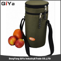 New Style Fashion Rolling Bottle Cooler Bag For Wine