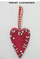 6''H MINI HEART VALENTINE ORNAMENTS