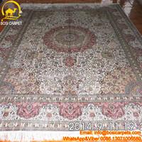 9x12ft Various flowers White Field Oriental Carpets NYC arabic design carpet