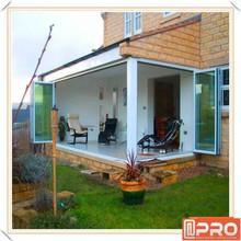 2015 Hot Sale Aluminium Folding Door With Single/double/triple Glazing